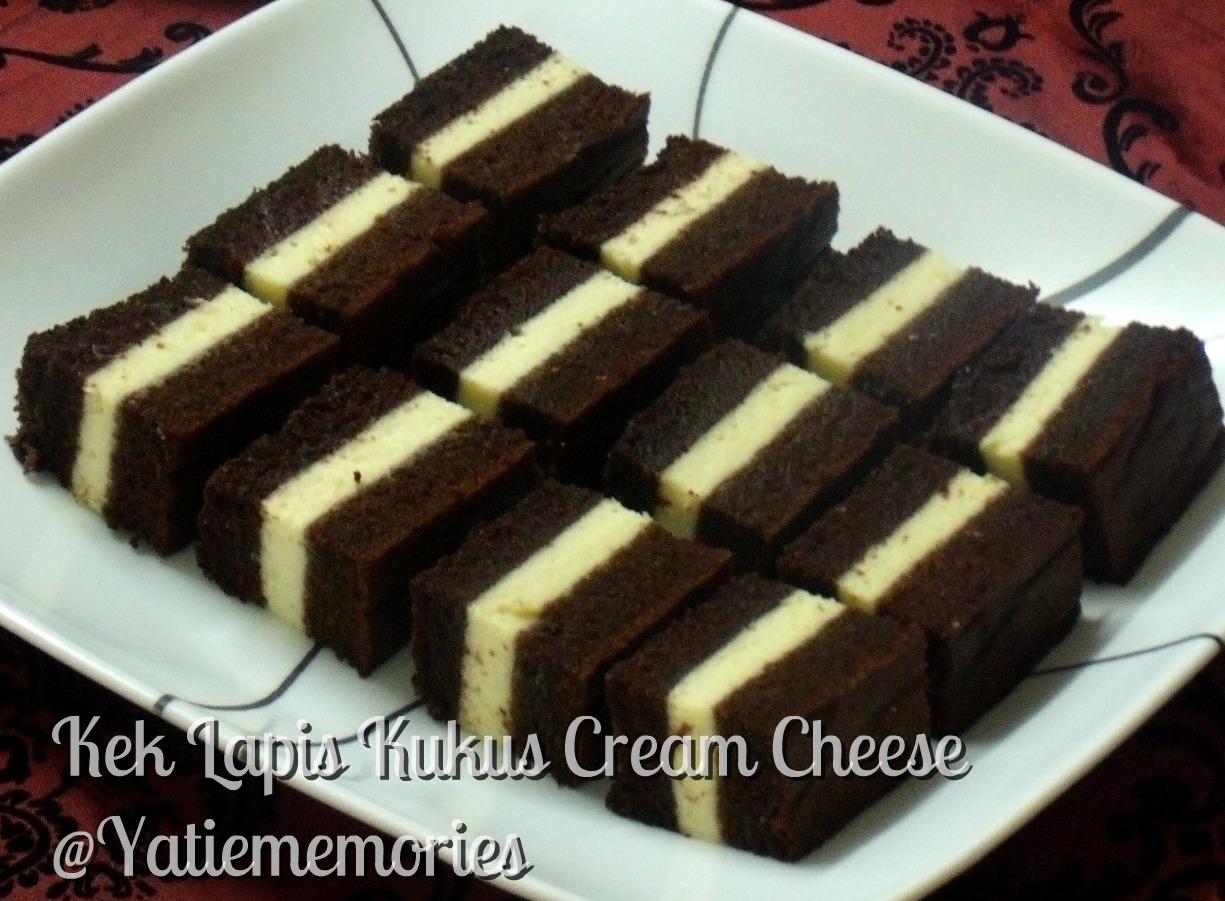 Sinar Kehidupanku**~::: Kek Lapis Kukus Cream Cheese