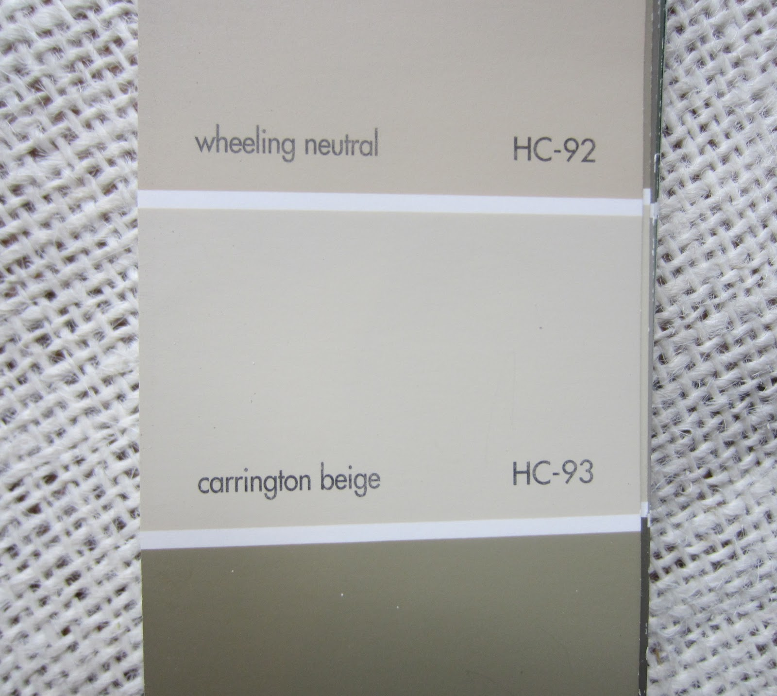 Benjamin Moore Light Neutral Paint Color