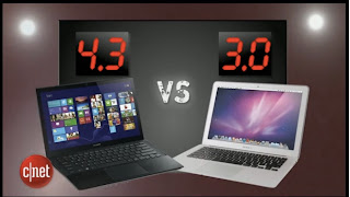 Sony Vaio Pro13 vs Apple Macbook Air 13がCNET USにてレポートされていますよ
