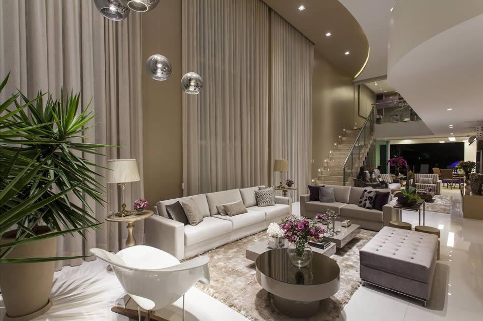 Sala Estar E Tv Integradas ~ Salas de estar, tv e jantar integradas  maravilhosas! Confira todos