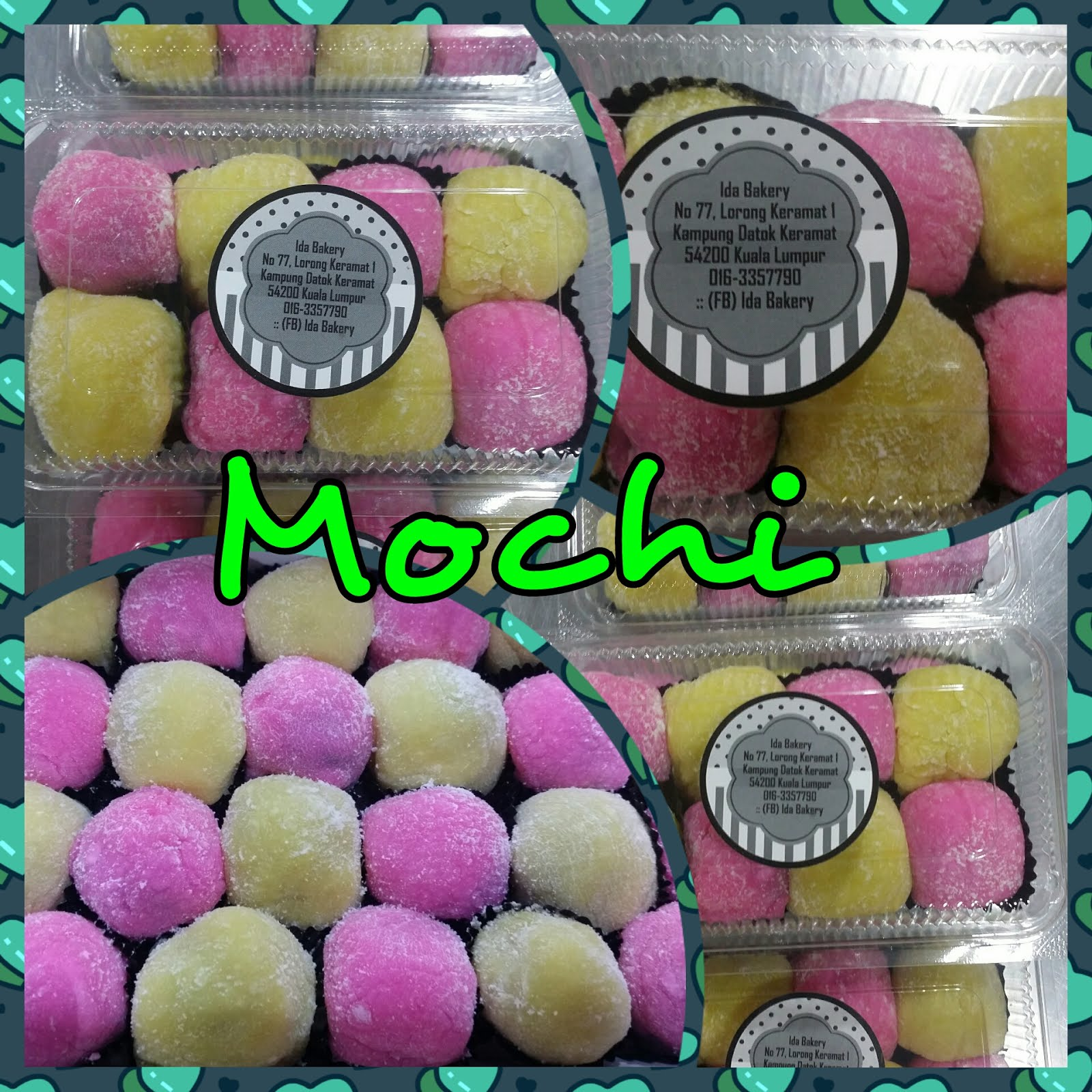Kelas Homemade Mochi RM180