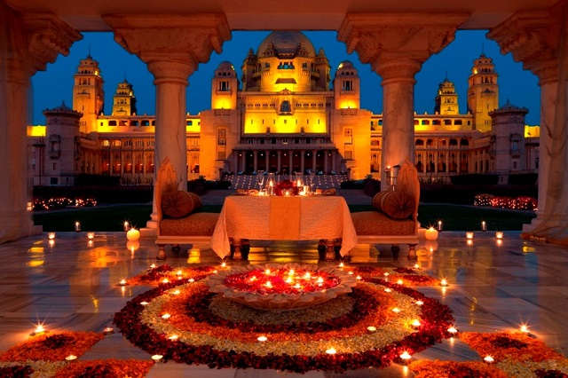 Race for the title of the best decorated market in Rajasthan during Diwali