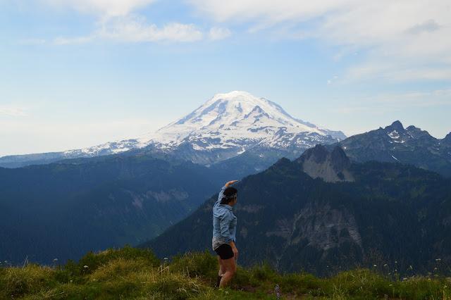 Mt. Rainier from Shriner Peak