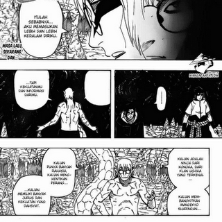 Baca Komik Naruto Chapter 585: