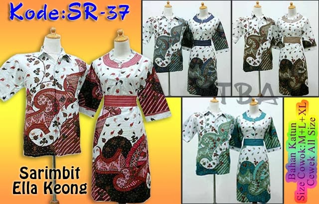 Dress Batik Sarimbit,Batik Pasangan