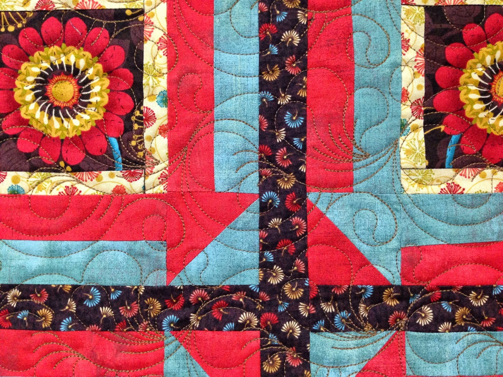 Trish Wells Flower Quilt