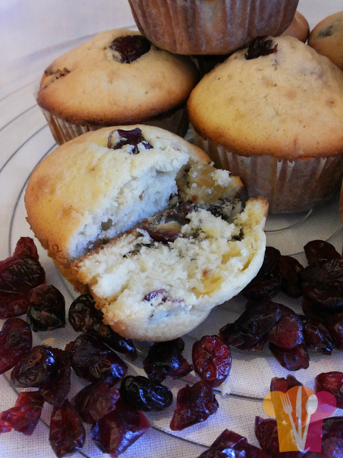 Dried fruits cupcakes