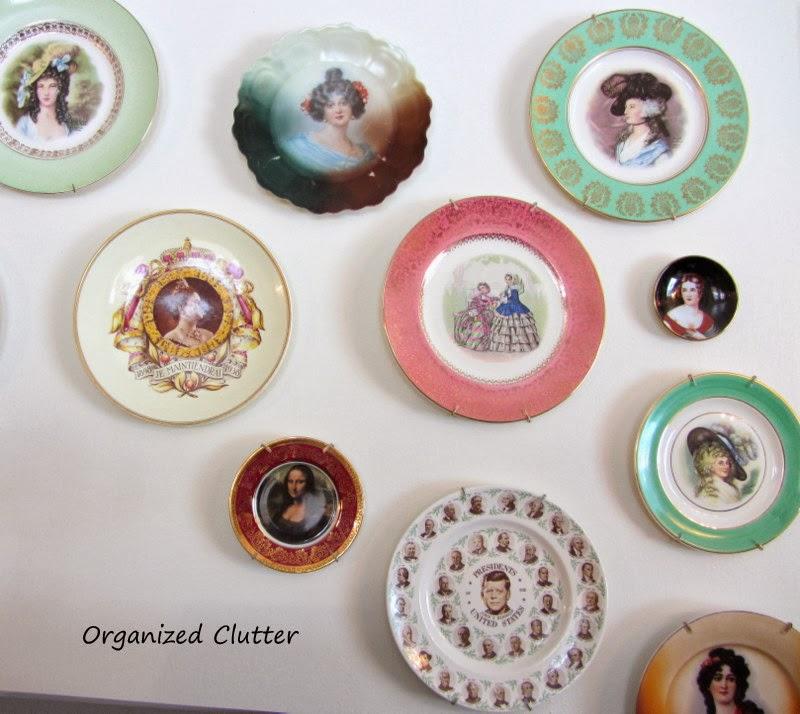 President's Day Presidential Memorabilia on Display www.organizedclutterqueen.blogspot.com