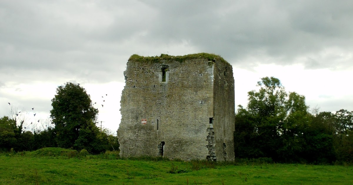 Ireland in ruins kinnefad castle co kildare for Kildare castle
