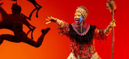 Musical de El Rey León desde 24€