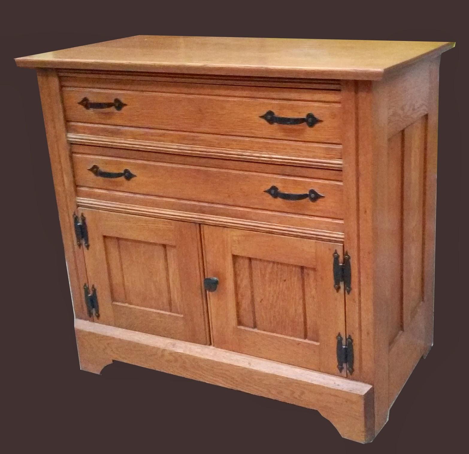 Uhuru furniture collectibles oak washstand reduced 95 for Reduced furniture