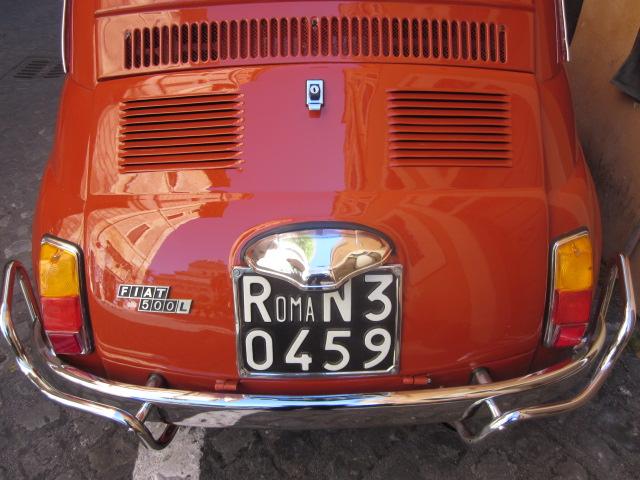 Fiat 500 - Roma Italia