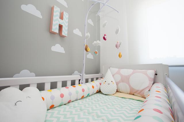 Sugestão diretamente das nuvens para o quarto de bebê  2 enjoy