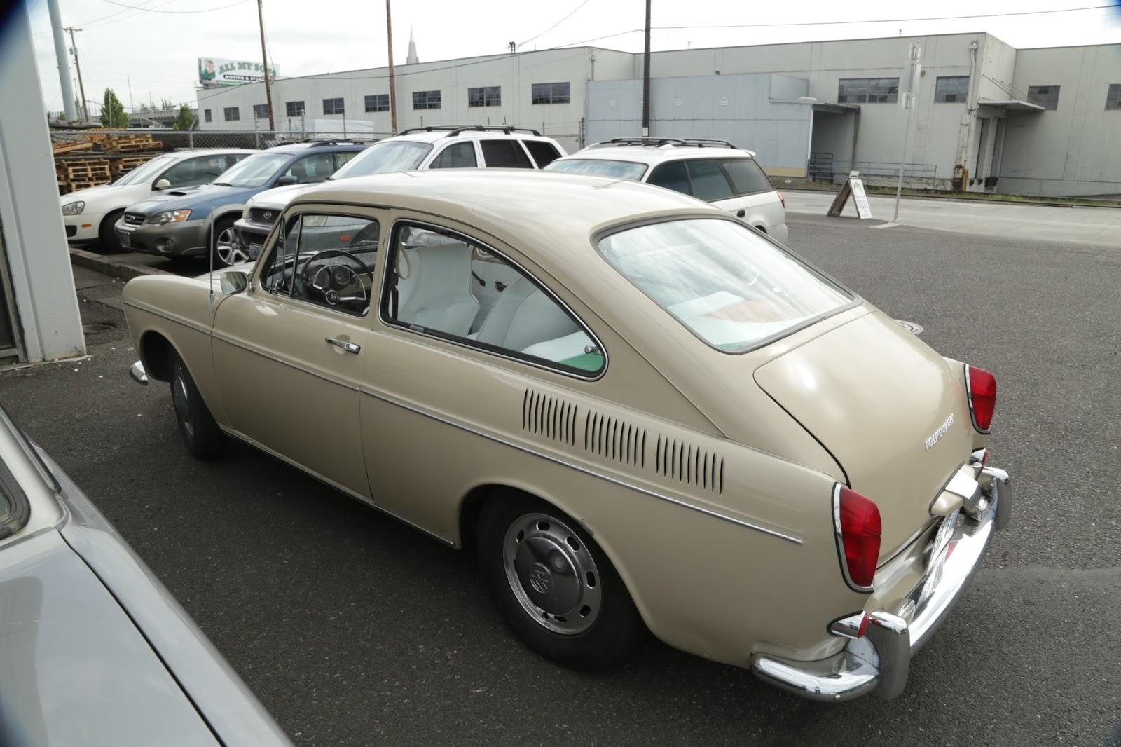1969 Volkswagen Type 3 Fastback.