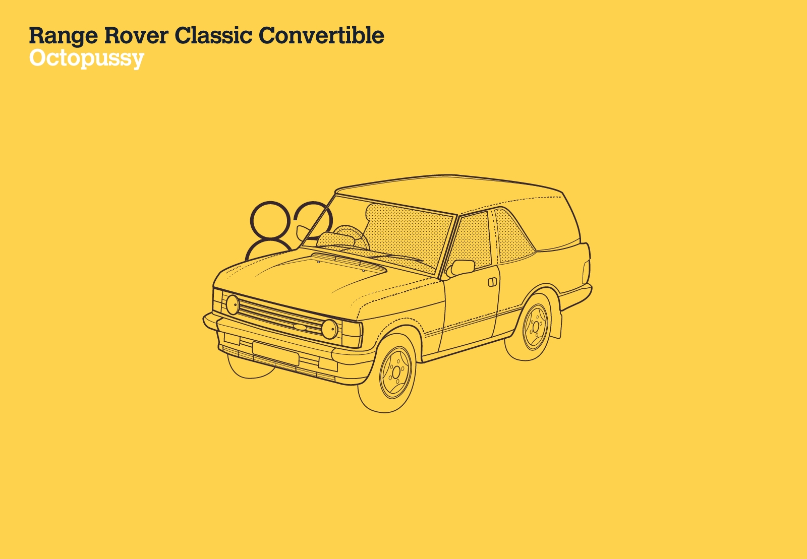 Range Rover Classic Convertible Octopussy