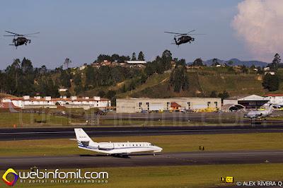 Panorámica general de los entrenamientos en la F-AIR COLOMBIA 2015.