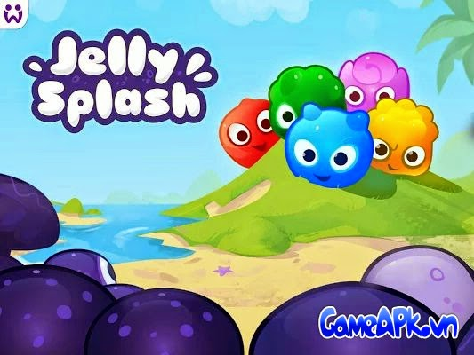 Jelly Splash v1.20.1 hack full tiền cho Android