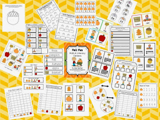 http://www.teacherspayteachers.com/Product/Fall-Autumn-Math-and-Literacy-Centers-848363