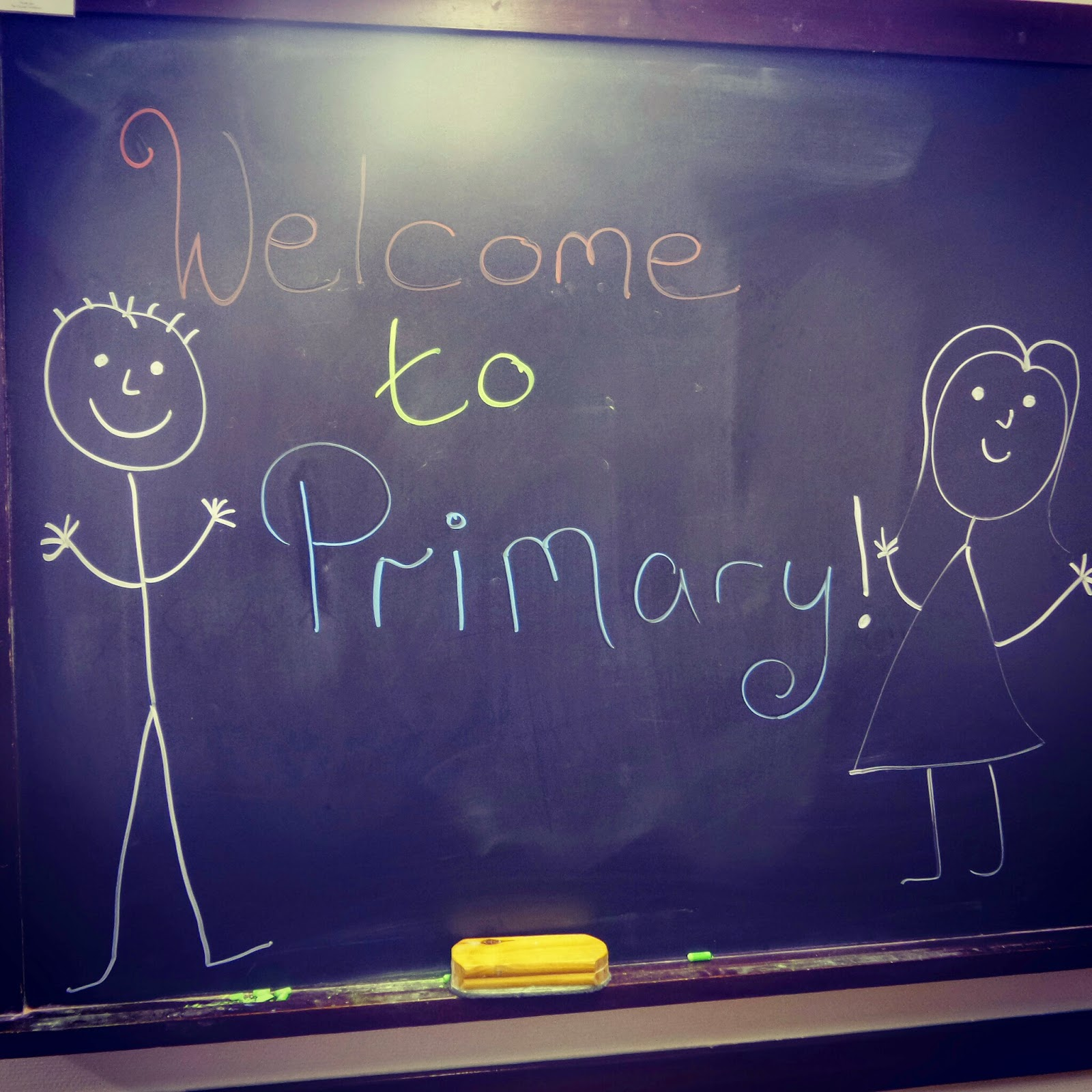 Welcome to Primary Chalk drawing