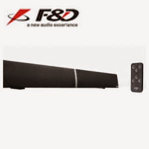 Buy F&D T-180BT Bluetooth Soundbar 72% off at Rs.3499 + 10% SBI Cashback – Snapdeal