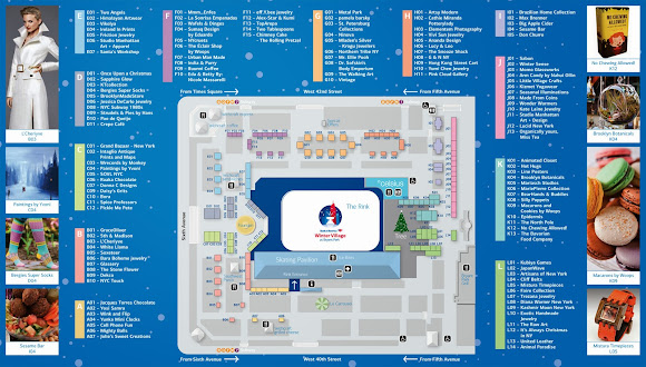 2011 Holiday Shops Map and Guide