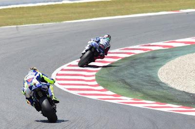 Rossi: 'Mungkin Saya Tidak Bisa Kejar Lorenzo Lagi'