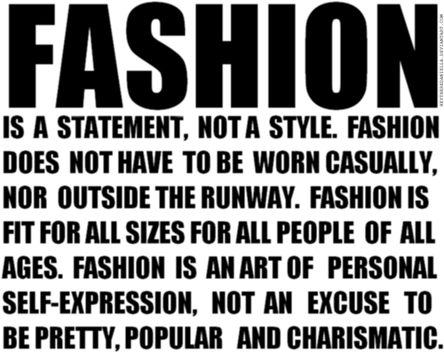 For Fashion Freaks Famous Fashion Quotes