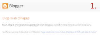zombie blog can not be registered