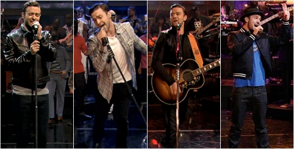 Todas as performances de Justin Timberlake no programa do Jimmy Fallon 2013