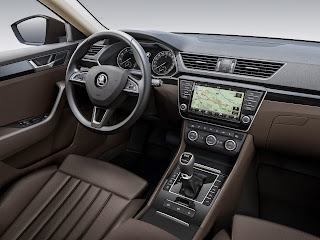New 2016-2017 Skoda Superb Interior