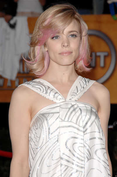 Hair styles: The Blonde Hair With Pink Highlights