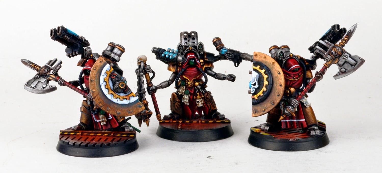 Mechanicum - Myrmidon Secutars stand ready.