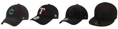 '47 Brand Chicago Cubs Cleanup Adjustable Hat $13.99 (regular $19.95)  New Era Texas Rangers Garment Washed 9Twenty Adjustable Hat $13.99 (regular $19.95)  Kansas City Royals New Era Team Neo 39Thirty Flex Hat $24.95 Go Royals! :)  New Era Boston Red Sox Black on Black 59FIFTY Fitted Hat $34.95