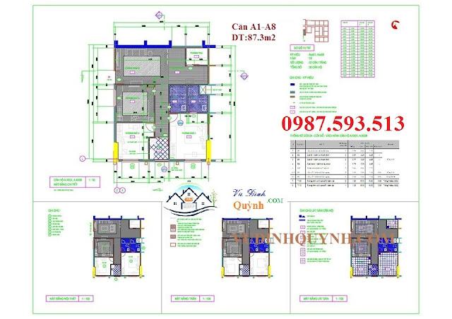 Căn A1-A8 dự án 122 Vĩnh Tuy