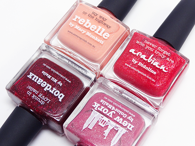 Picture Polish New York, Rebelle, Arabian, Bordeaux