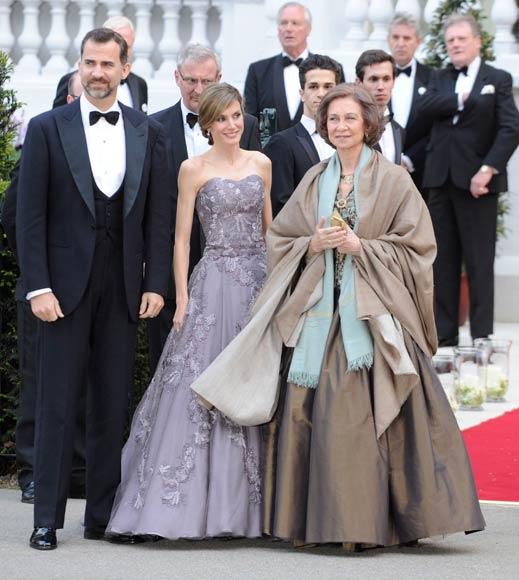 Los mejores vestidos de fiesta de la realeza