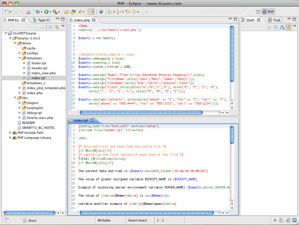 smarty assign var Sublime text smarty syntax definition and snippets for working with smarty template engine for php compatible with sublime text 2 and 3 loosely based on the smarty textmate bundle.