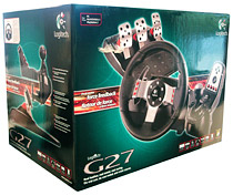 gear for gamer review logitech g27 racing wheel. Black Bedroom Furniture Sets. Home Design Ideas