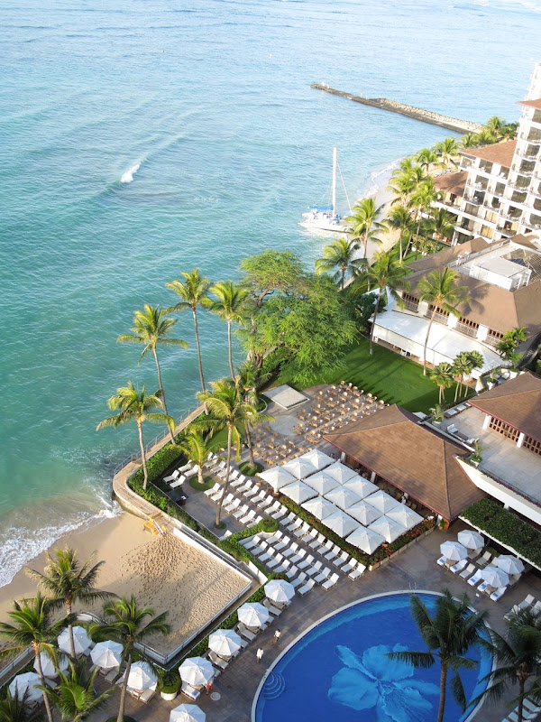 Ocean view Sheraton Waikiki