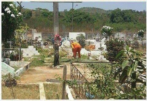 Cemitérios de Caxias começam a ser limpos para o Dia de Finados