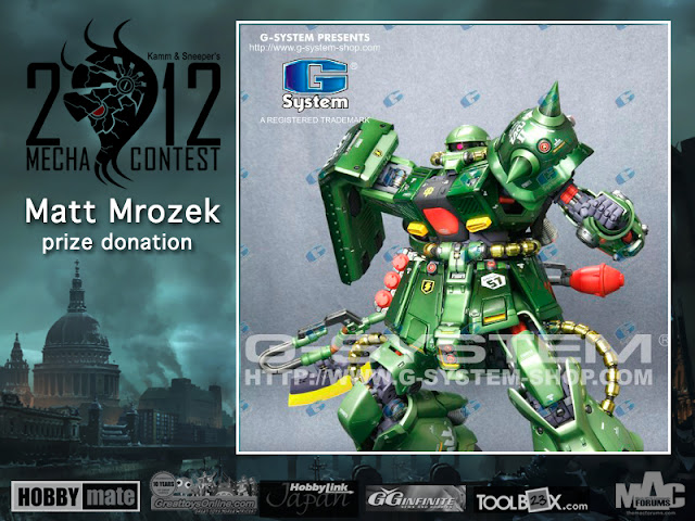 2012 Mecha Contest prize photo