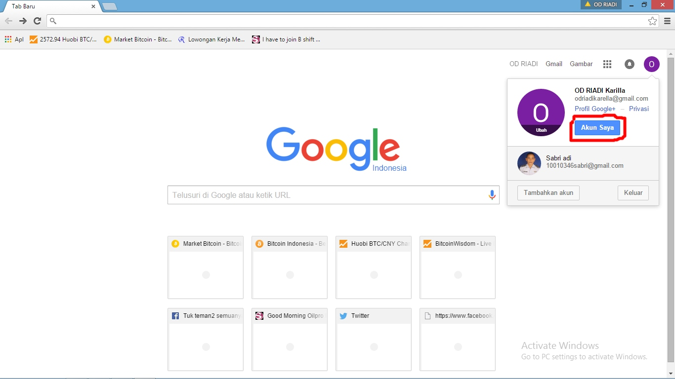 how to make google my default browser with imail