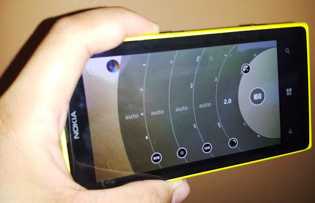 Settings Nokia Lumia 1020 Pro Camera