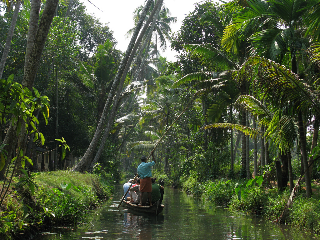 India Out Of This World Kerala Backwaters Paradise At