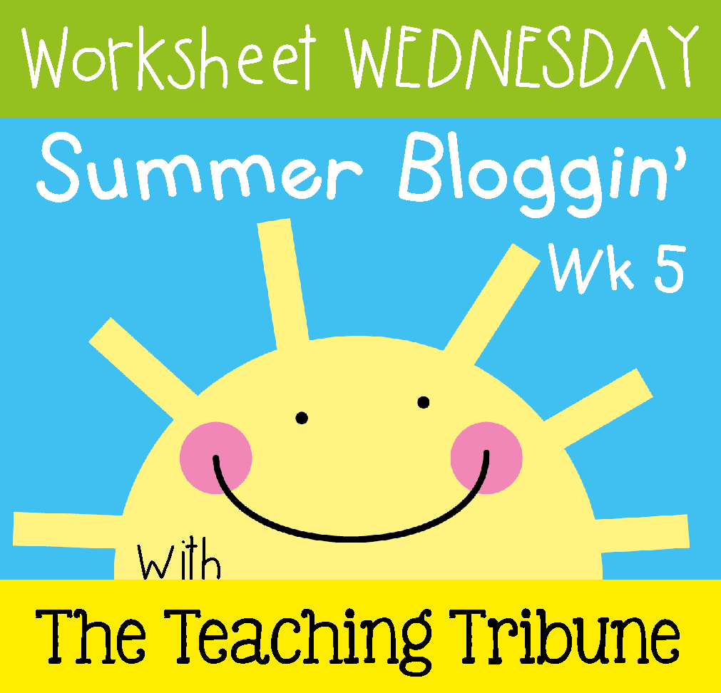 http://www.theteachingtribune.com/2014/07/worksheet-wednesday-5.html