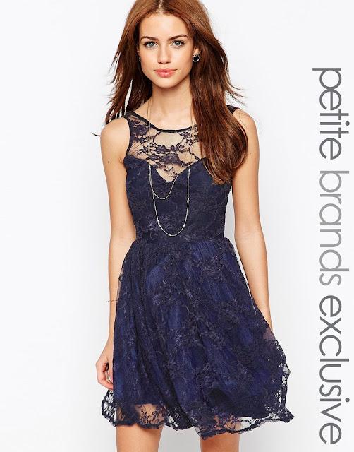 Vestidos de encaje cortos | Moda