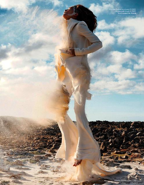 erin wasson for vogue netherlands may 2013 gareth pugh jumpsuit