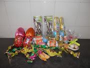 Esto es todo lo que el conejito de Pascua ha dejado en mi casa