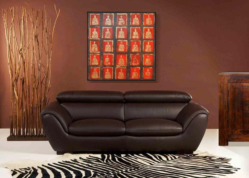 nouvelles couleurs à la mode de mur dans le salon