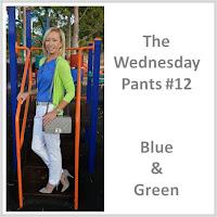 Sydney Fashion Hunter - The Wednesday Pants #12 - Blue & Green